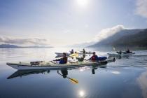 Crossing Johnstone Strait