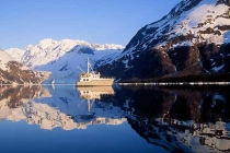 ""\""""The Enchanted Circle"""" Charter boat Faithfully on a still morning in Harriman Fjord, Prince William Sound, Alaska.""210|140|?|en|2|4d050571d1c9bd9727846575a1f52846|False|UNLIKELY|0.3040564954280853