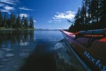 Arguably the clearist lake in America, Waldo Lake, Oregon.
