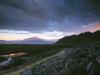 Davis Lake Rainbow. Morning put-in at eutrophic Davis Lake, a shallow lake full of fish and birds.