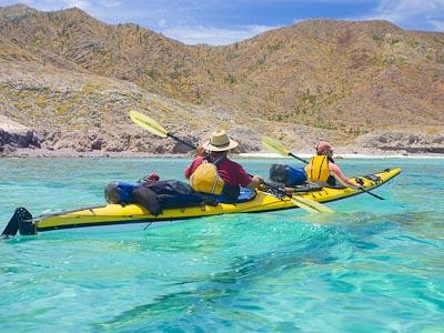 Isla Carmen's north shore, Baja, MX.