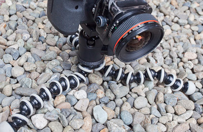 Joby Gorillapod gets tripod height down to 1.75""