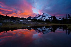 Example 2. Vivid sunrise