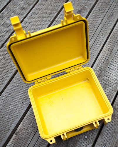 15-year-old Pelican Mini S case