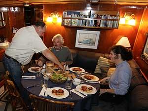 Dinner in the Ursa Major Salon