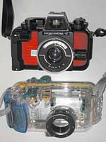 Nikonos vs Waterproof Case